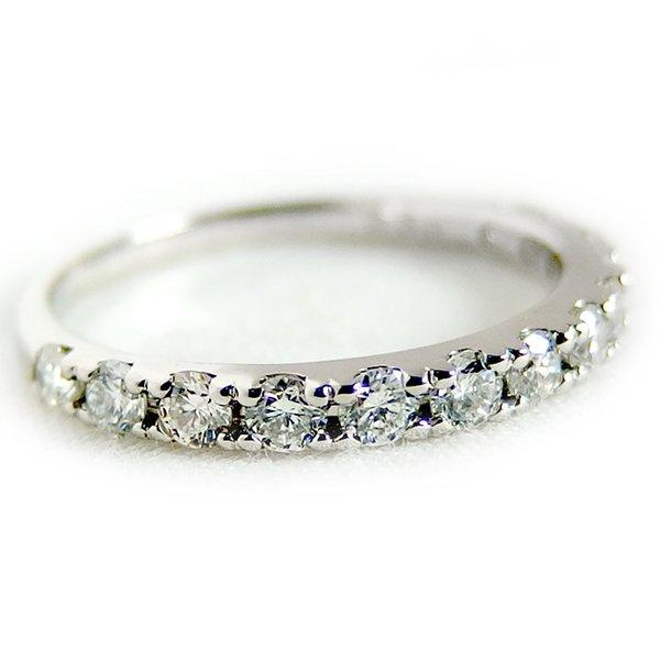 5000円以上送料無料 ダイヤモンド リング ハーフエタニティ 0.5ct 10号 プラチナ Pt900 ハーフエタニティリング 指輪 ファッション リング・指輪 天然石 ダイヤモンド レビュー投稿で次回使える2000円クーポン全員にプレゼント