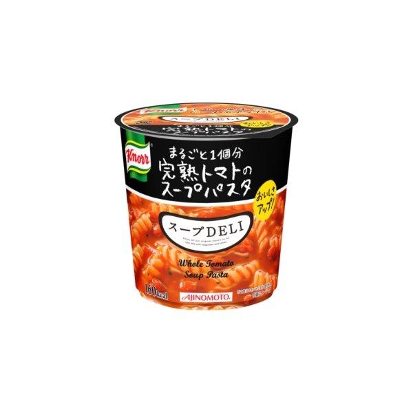 【まとめ買い】味の素 クノール スープDELI 完熟トマトのスープパスタ 41.9g×18カップ(6カップ×3ケース) フード・ドリンク・スイーツ カップ食品 カップスープ クノール レビュー投稿で次回使える2000円クーポン全員にプレゼント