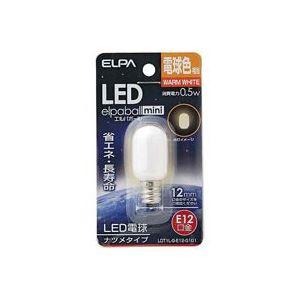 【送料無料】(まとめ)朝日電器 ELPA 電球形LEDランプ ナツメ型LDT1L-G-E12-G101 【×8セット】 家電 電球 その他の電球 レビュー投稿で次回使える2000円クーポン全員にプレゼント