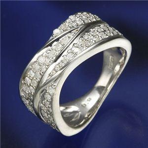 10000円以上送料無料 0.6ctダイヤリング 指輪 ワイドパヴェリング 21号 ファッション リング・指輪 天然石 ダイヤモンド レビュー投稿で次回使える2000円クーポン全員にプレゼント