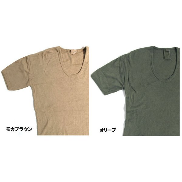 10000円以上送料無料 東ドイツタイプ Uネック Tシャツ JT039YD オリーブ サイズ4 【 レプリカ 】 ホビー・エトセトラ ミリタリー ウェア レビュー投稿で次回使える2000円クーポン全員にプレゼント