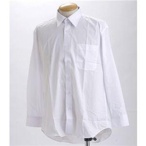 【送料無料】ブラック & ホワイト ワイシャツ2枚セット 長袖 LL 【 2点お得セット 】 ファッション スーツ・ワイシャツ ワイシャツ その他のスーツ・ワイシャツ レビュー投稿で次回使える2000円クーポン全員にプレゼント