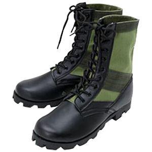 10000円以上送料無料 米軍 ジャングルブーツレプリカ アーミーグリーン 8W(27.0-27.5cm) ホビー・エトセトラ ミリタリー ブーツ・靴 レビュー投稿で次回使える2000円クーポン全員にプレゼント
