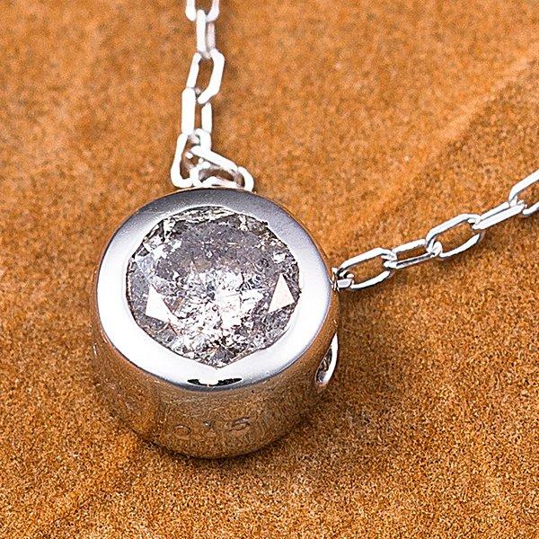 5000円以上送料無料 K18WG 0.15ctダイヤモンドフクリンペンダント ファッション ネックレス・ペンダント 天然石 ダイヤモンド レビュー投稿で次回使える2000円クーポン全員にプレゼント