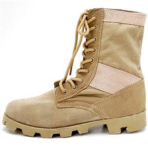 10000円以上送料無料 米軍 ジャングルブーツレプリカ サンド 10W(29.0-29.5cm) ファッション 靴・シューズ ブーツ その他のブーツ レビュー投稿で次回使える2000円クーポン全員にプレゼント