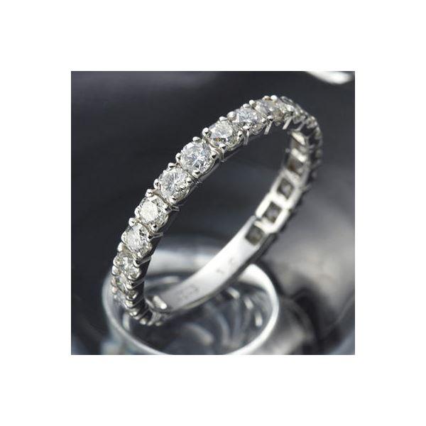 5000円以上送料無料 プラチナPt900 ダイヤリング 指輪 1ctエタニティリング 10号 (鑑別書付き) ファッション リング・指輪 天然石 ダイヤモンド レビュー投稿で次回使える2000円クーポン全員にプレゼント