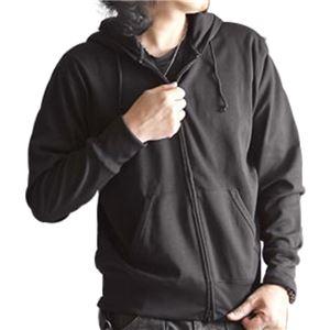 【送料無料】吸汗速乾パーカー ブラック Sサイズ ファッション トップス トレーナー・パーカー その他のトレーナー・パーカー レビュー投稿で次回使える2000円クーポン全員にプレゼント