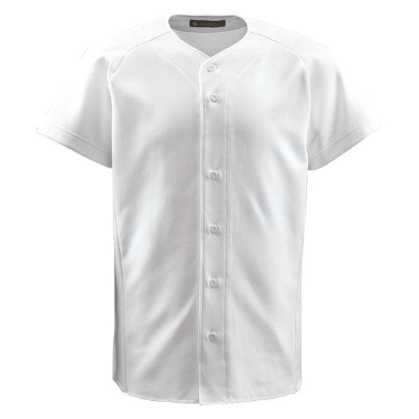 【送料無料】デサント(DESCENTE) フルオープンシャツ (野球) DB1011 Sホワイト O スポーツ・レジャー スポーツ用品・スポーツウェア 野球用品 ベースボールシャツ レビュー投稿で次回使える2000円クーポン全員にプレゼント