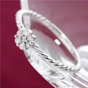 10000円以上送料無料 K18WGダイヤリング 指輪 9号 ファッション リング・指輪 天然石 ダイヤモンド レビュー投稿で次回使える2000円クーポン全員にプレゼント