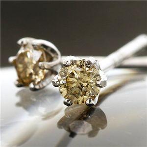 5000円以上送料無料 18KWGシャンパンカラーダイヤモンドピアス 計0.1ct ファッション ピアス・イヤリング 天然石 ダイヤモンド レビュー投稿で次回使える2000円クーポン全員にプレゼント