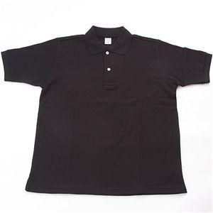 10000円以上送料無料 ドライメッシュアクティブ半袖ポロシャツ ブラック 3L ファッション トップス ポロシャツ その他のポロシャツ レビュー投稿で次回使える2000円クーポン全員にプレゼント