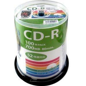 10000円以上送料無料 デ‐タ用CD-Rメディア52倍速 レーベル ワイドタイプ プリンタブル白100枚スピンドルHDCR80GP100  AV・デジモノ その他のAV・デジモノ レビュー投稿で次回使える2000円クーポン全員にプレゼント