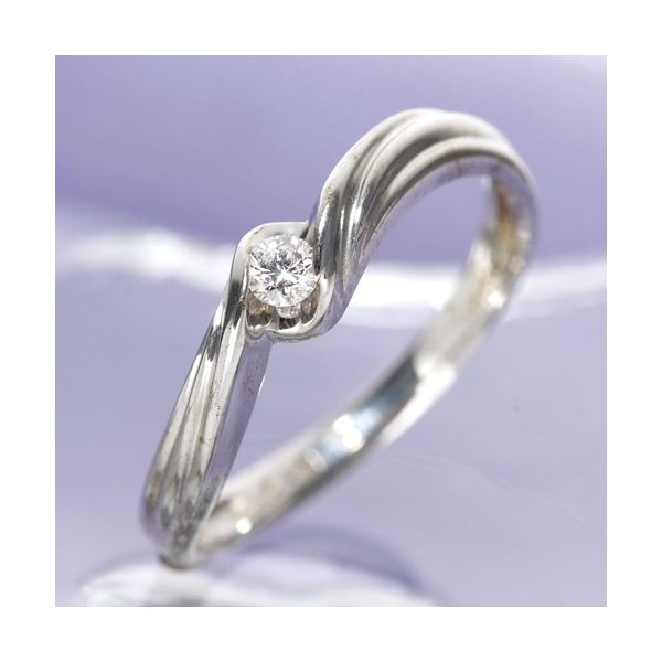 10000円以上送料無料 ピンクダイヤリング 指輪 ウェーブリング 15号 ファッション リング・指輪 天然石 ダイヤモンド レビュー投稿で次回使える2000円クーポン全員にプレゼント