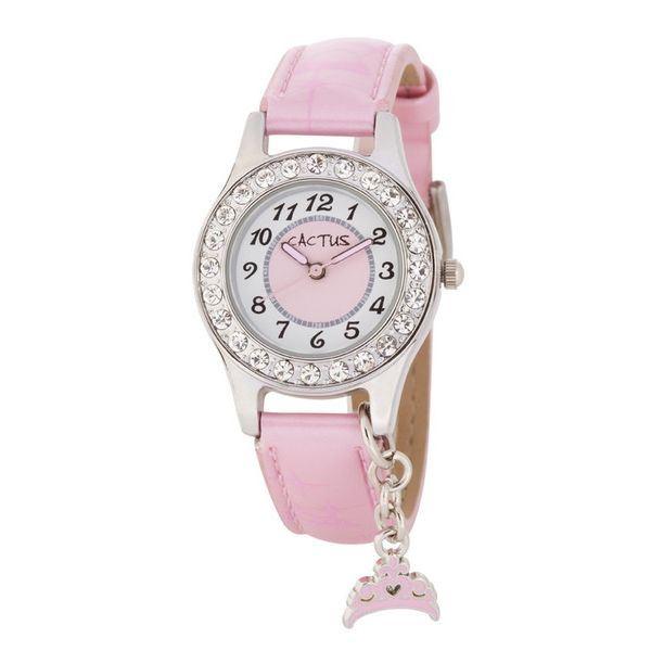 5000円以上送料無料 CACTUS(カクタス) キッズ腕時計 チャーム付 CAC-71-L05 ファッション 腕時計 その他の腕時計 レビュー投稿で次回使える2000円クーポン全員にプレゼント