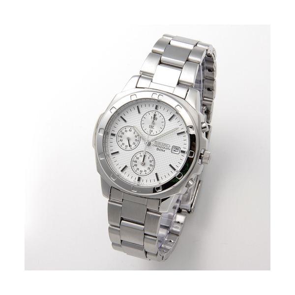 5000円以上送料無料 SEIKO(セイコー) 腕時計 クロノグラフ SND187P シルバー ファッション 腕時計 メンズ(男性) レビュー投稿で次回使える2000円クーポン全員にプレゼント