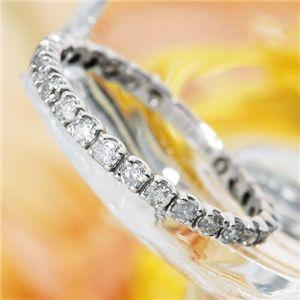 10000円以上送料無料 K18WG 0.5ctダイヤリング 指輪 エタニティリング 13号 ファッション リング・指輪 天然石 ダイヤモンド レビュー投稿で次回使える2000円クーポン全員にプレゼント