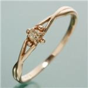 10000円以上送料無料 K18PG ダイヤリング 指輪 デザインリング 11号 ファッション リング・指輪 天然石 ダイヤモンド レビュー投稿で次回使える2000円クーポン全員にプレゼント