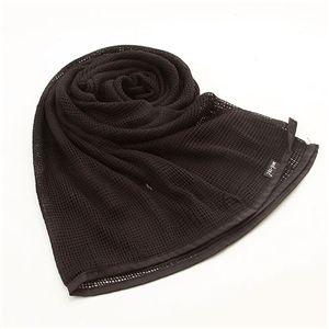 10000円以上送料無料 10カラー 大型メッシュマルチスカーフ ブラック ファッション マフラー・ストール・スカーフ・バンダナ レビュー投稿で次回使える2000円クーポン全員にプレゼント