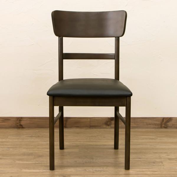 10000円以上送料無料 ダイニングチェア/リビングチェア 【同色2脚セット/ブラウン】 座面高:約42.5cm 張地:合成皮革(合皮) 【完成品】【代引不可】 生活用品・インテリア・雑貨 インテリア・家具 椅子 ダイニングチェア レビュー投稿で次回使える2000円クーポン全員にプレ