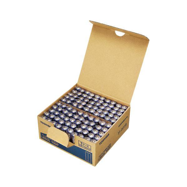東芝 アルカリ乾電池 単4形 100本パック LR03L 100P 家電 その他の家電 レビュー投稿で次回使える2000円クーポン全員にプレゼント