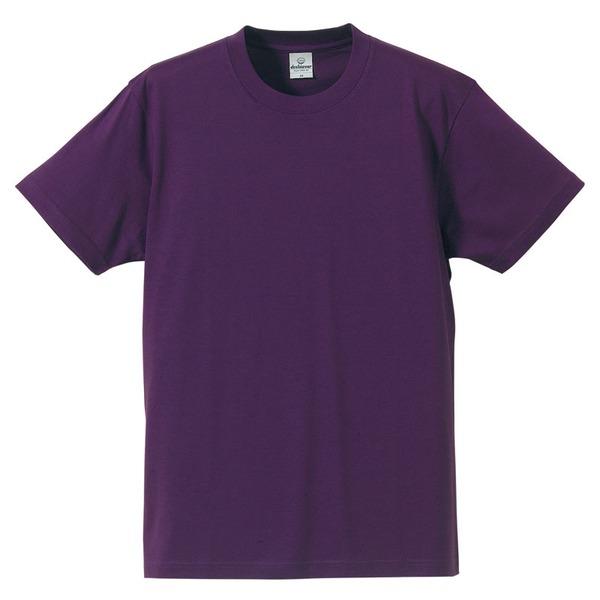 Tシャツ CB5806 パープル Lサイズ 【 5枚セット 】 ファッション トップス Tシャツ 半袖Tシャツ レビュー投稿で次回使える2000円クーポン全員にプレゼント