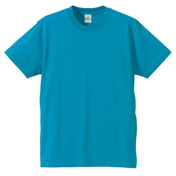 Tシャツ CB5806 ターコイズ ブルー Mサイズ 【 5枚セット 】 ファッション トップス Tシャツ 半袖Tシャツ レビュー投稿で次回使える2000円クーポン全員にプレゼント