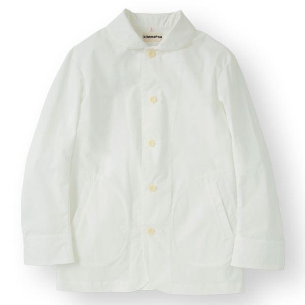 10000円以上送料無料 男性コックジャケットカツラギ ホワイト LLサイズ KMJ2780-1 ファッション トップス その他のトップス レビュー投稿で次回使える2000円クーポン全員にプレゼント