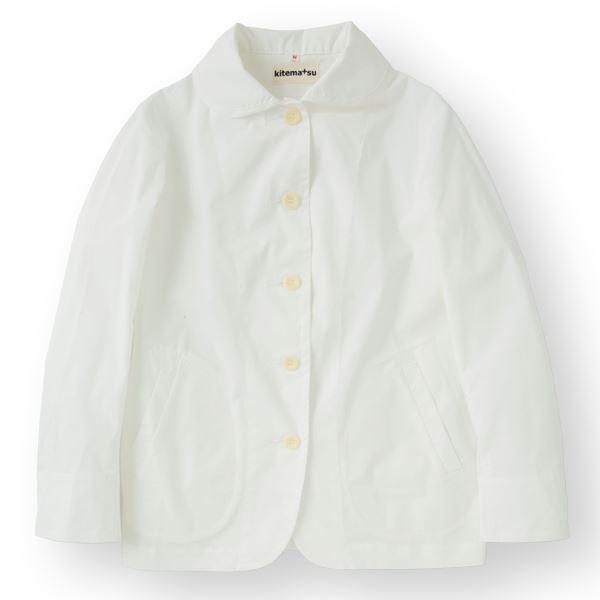 10000円以上送料無料 女性コックジャケットカツラギ ホワイト Mサイズ KMJ2781-1 ファッション トップス その他のトップス レビュー投稿で次回使える2000円クーポン全員にプレゼント