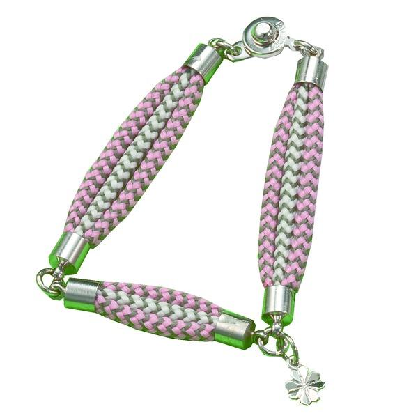 【送料無料】幸せのクローバーチャームブレス (ピンク)L ファッション その他のファッション レビュー投稿で次回使える2000円クーポン全員にプレゼント