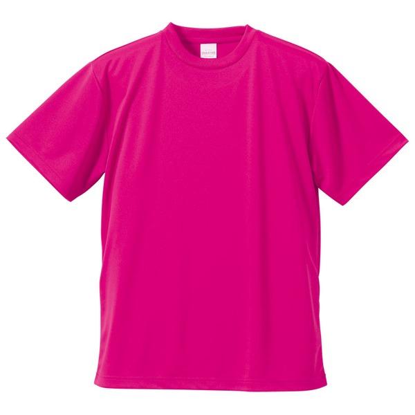 10000円以上送料無料 UVカット・吸汗速乾・5枚セット・4.1オンスさらさらドライ Tシャツ トロピカルピンク L ファッション トップス Tシャツ 半袖Tシャツ レビュー投稿で次回使える2000円クーポン全員にプレゼント