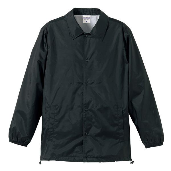 10000円以上送料無料 撥水防風加工裏地起毛付コーチジャケット ブラック M ファッション トップス ジャケット メンズジャケット レビュー投稿で次回使える2000円クーポン全員にプレゼント