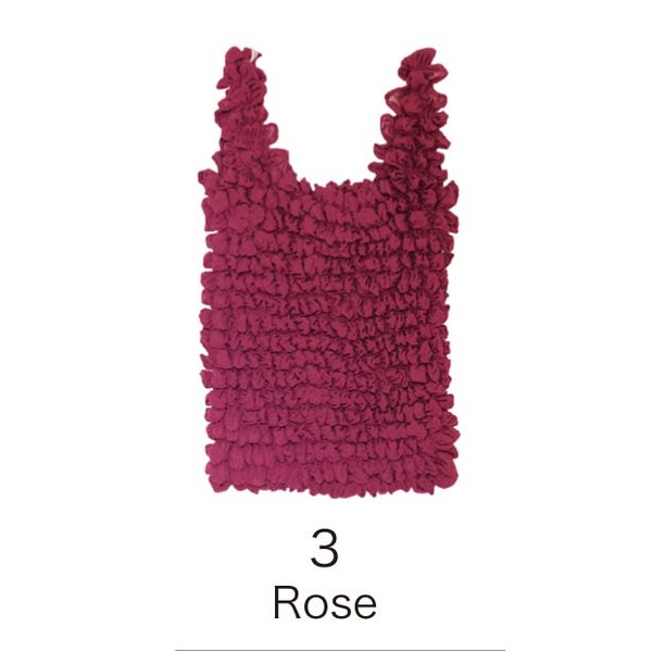 【送料無料】EC‐3絞バッグ大 Rose ファッション バッグ エコバッグ レビュー投稿で次回使える2000円クーポン全員にプレゼント