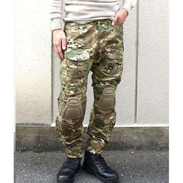 10000円以上送料無料 ニーガード付G3タクティカルパンツ マルチ M ファッション ボトムス パンツ ミリタリーパンツ レビュー投稿で次回使える2000円クーポン全員にプレゼント