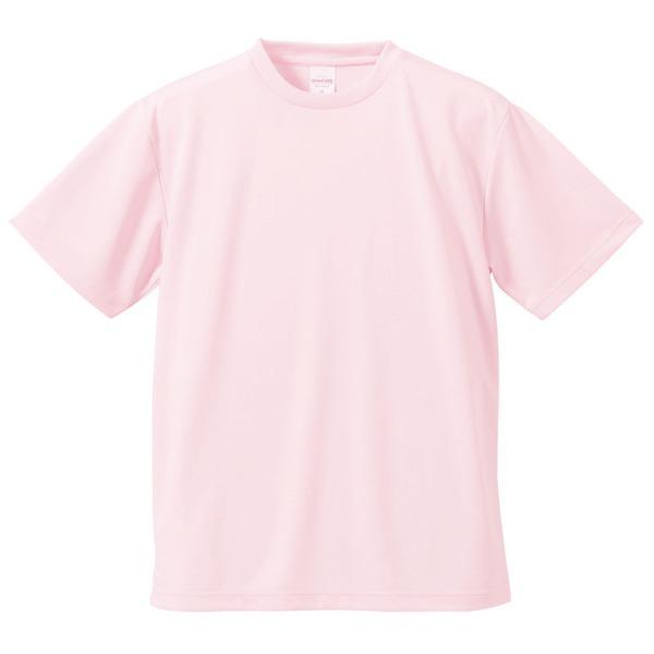 10000円以上送料無料 UVカット・吸汗速乾・5枚セット・4.1オンスさらさらドライ Tシャツベビーピンク XL ファッション トップス Tシャツ 半袖Tシャツ レビュー投稿で次回使える2000円クーポン全員にプレゼント