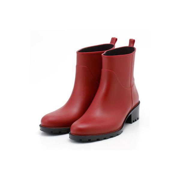 5000円以上送料無料 PATERNAZZI イタリア製ショートレインブーツ RED (レッド) 38サイズ 約24cm ファッション 靴・シューズ レインブーツ その他のレインブーツ レビュー投稿で次回使える2000円クーポン全員にプレゼント