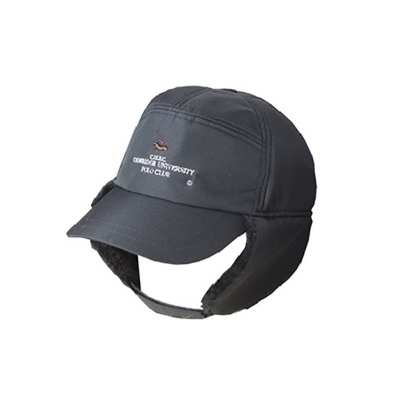 防寒耳当てファー付キャップ (ブラック) ファッション 帽子・キャップ・ハット レディース帽子 レビュー投稿で次回使える2000円クーポン全員にプレゼント