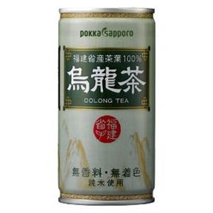 【まとめ買い】ポッカサッポロ 烏龍茶 缶 190g 60本入り(30本×2ケース) フード・ドリンク・スイーツ お茶・紅茶 烏龍茶 レビュー投稿で次回使える2000円クーポン全員にプレゼント