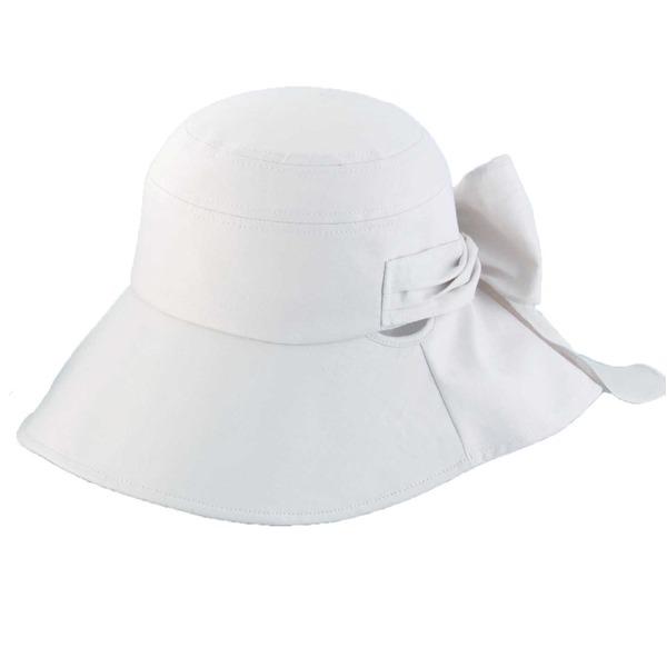 10000円以上送料無料 クールインハット(リボン付き) ベージュ ファッション 帽子・キャップ・ハット レディース帽子 レビュー投稿で次回使える2000円クーポン全員にプレゼント