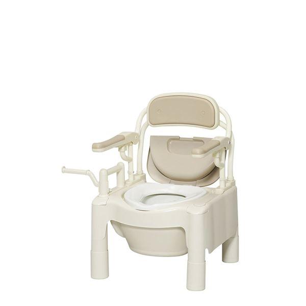 アロン化成 樹脂製ポータブルトイレ ポータブルトイレFX-CP はねあげ 534-500 534-500 生活用品・インテリア・雑貨 トイレ用品 その他のトイレ用品 レビュー投稿で次回使える2000円クーポン全員にプレゼント