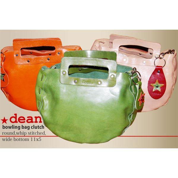 ★dean(ディーン) bowling bag ハンドバッグ ライム ファッション バッグ ハンドバッグ レビュー投稿で次回使える2000円クーポン全員にプレゼント