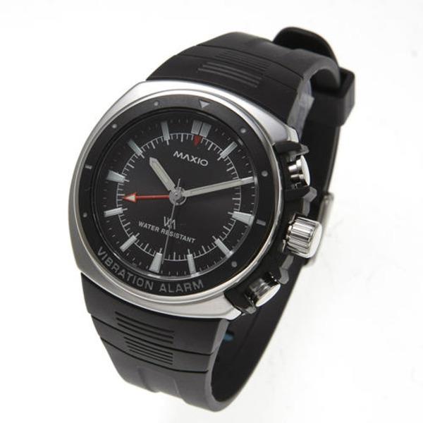 【送料無料】マキシオ激振(黒)【腕時計】 ファッション 腕時計 メンズ(男性) レビュー投稿で次回使える2000円クーポン全員にプレゼント