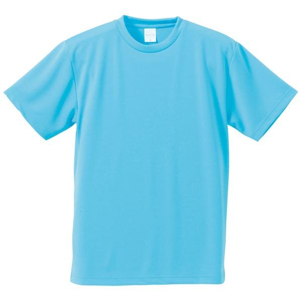 10000円以上送料無料 UVカット・吸汗速乾・5枚セット・4.1オンスさらさらドライ Tシャツアクア ブルー M ファッション トップス Tシャツ 半袖Tシャツ レビュー投稿で次回使える2000円クーポン全員にプレゼント