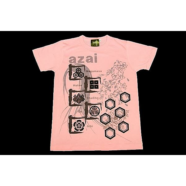 10000円以上送料無料 浅井家Tシャツ LW ピンク Lサイズ ファッション トップス Tシャツ 半袖Tシャツ レビュー投稿で次回使える2000円クーポン全員にプレゼント