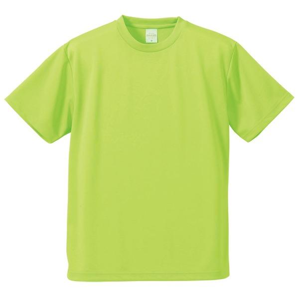 10000円以上送料無料 UVカット・吸汗速乾・5枚セット・4.1オンスさらさらドライ Tシャツライム グリーン M ファッション トップス Tシャツ 半袖Tシャツ レビュー投稿で次回使える2000円クーポン全員にプレゼント