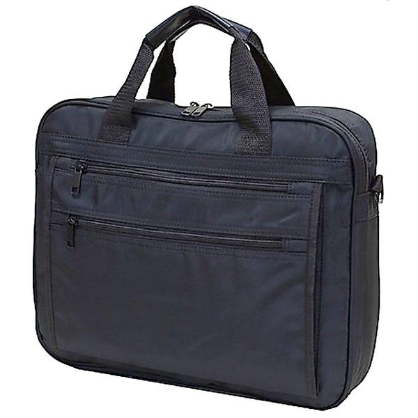 5000円以上送料無料 B4サイズ対応大型2WAYビジネスバッグ ブラック ファッション バッグ リクルート・ビジネスバッグ レビュー投稿で次回使える2000円クーポン全員にプレゼント