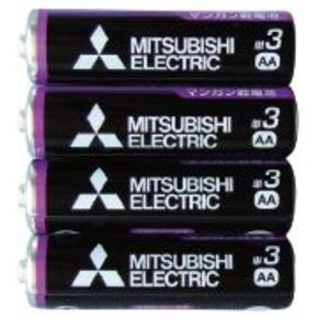 10000円以上送料無料 三菱 黒マンガン乾電池単3(4本入)R6PUE/4S 36-358 【10個セット】 家電 電池・充電池 レビュー投稿で次回使える2000円クーポン全員にプレゼント