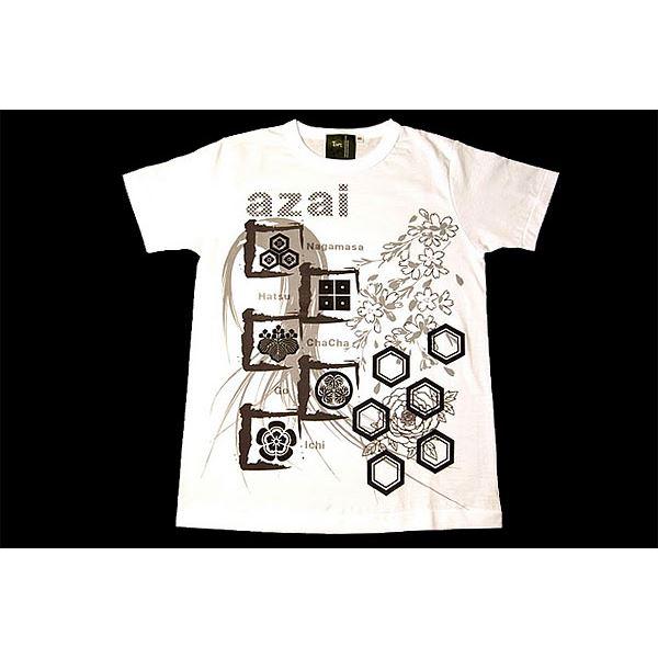 10000円以上送料無料 浅井家Tシャツ LW 白 Mサイズ ファッション トップス Tシャツ 半袖Tシャツ レビュー投稿で次回使える2000円クーポン全員にプレゼント