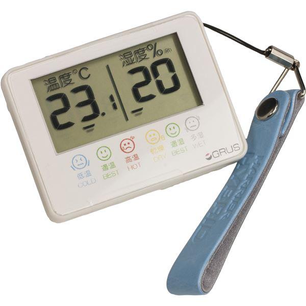 10000円以上送料無料 GRUS(グルス) デジタル 温湿度計 室内 携帯用 GRS102-01 ダイエット・健康 健康器具 温度計・湿度計 レビュー投稿で次回使える2000円クーポン全員にプレゼント