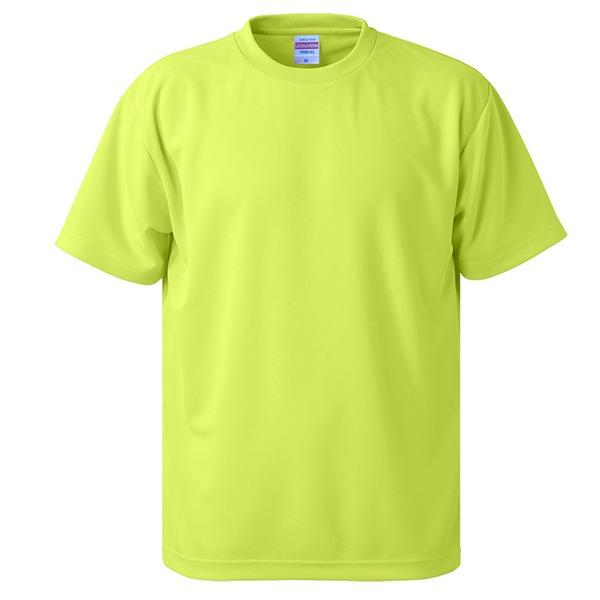 10000円以上送料無料 UVカット・吸汗速乾・5枚セット・4.1オンスさらさらドライ Tシャツ蛍光 イエロー S ファッション トップス Tシャツ 半袖Tシャツ レビュー投稿で次回使える2000円クーポン全員にプレゼント