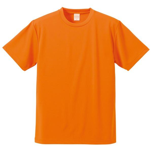 10000円以上送料無料 UVカット・吸汗速乾・5枚セット・4.1オンスさらさらドライ Tシャツ オレンジ XXXL ファッション トップス Tシャツ 半袖Tシャツ レビュー投稿で次回使える2000円クーポン全員にプレゼント